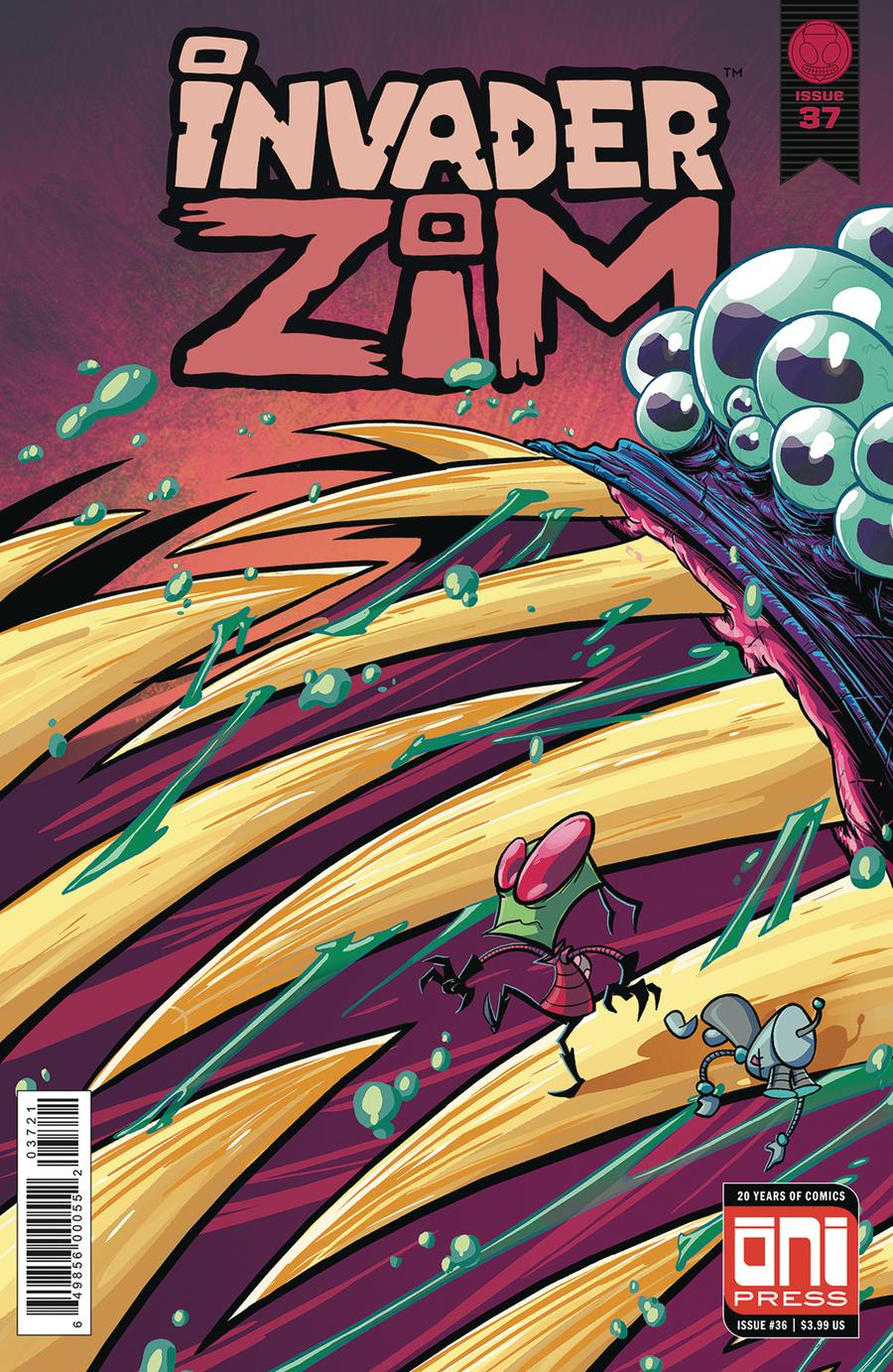 Invader Zim #37 Cover B Variant Fred Stresing Cover