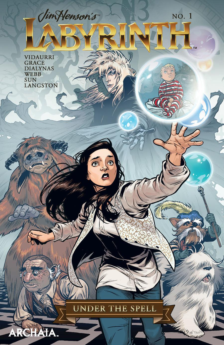 Jim Hensons Labyrinth Under The Spell #1 Cover A Regular Rebekah Isaacs Cover