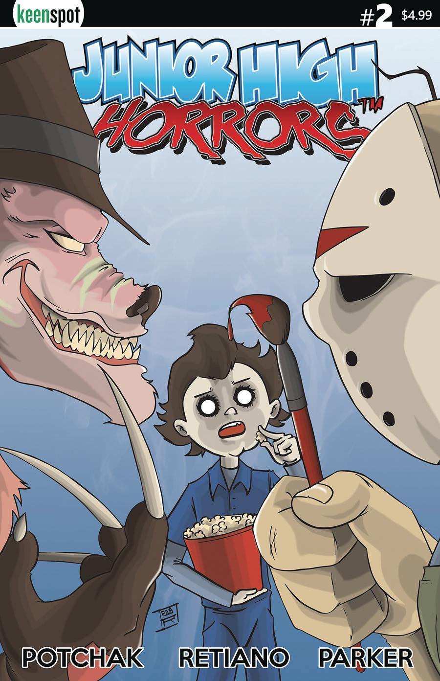 Junior High Horrors #2 Cover A Regular Cover