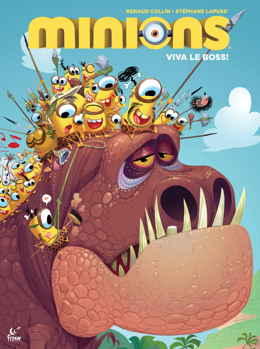 Minions Viva Le Boss #1 Cover A Regular Renaud Collin Cover
