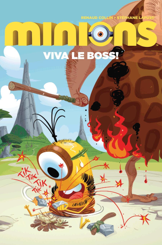 Minions Viva Le Boss #1 Cover B Variant Renaud Collin Cover