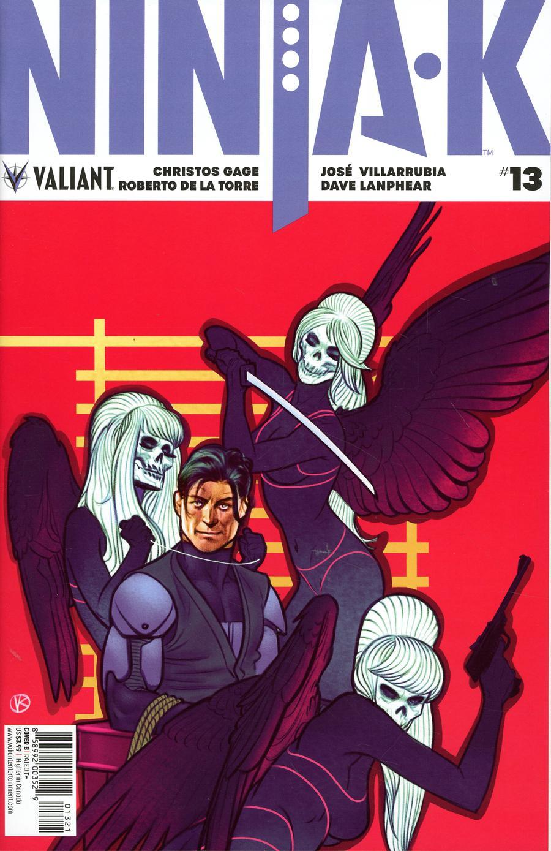 Ninja-K #13 Cover B Variant Viktor Kalvachev Cover