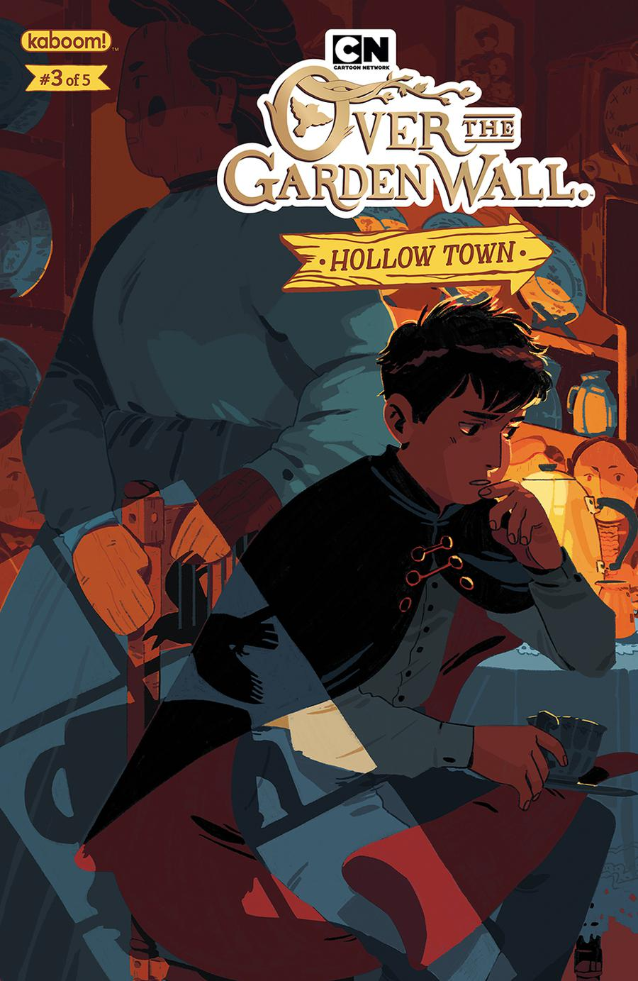 Over The Garden Wall Hollow Town #3 Cover A Regular Celia Lowenthal Cover