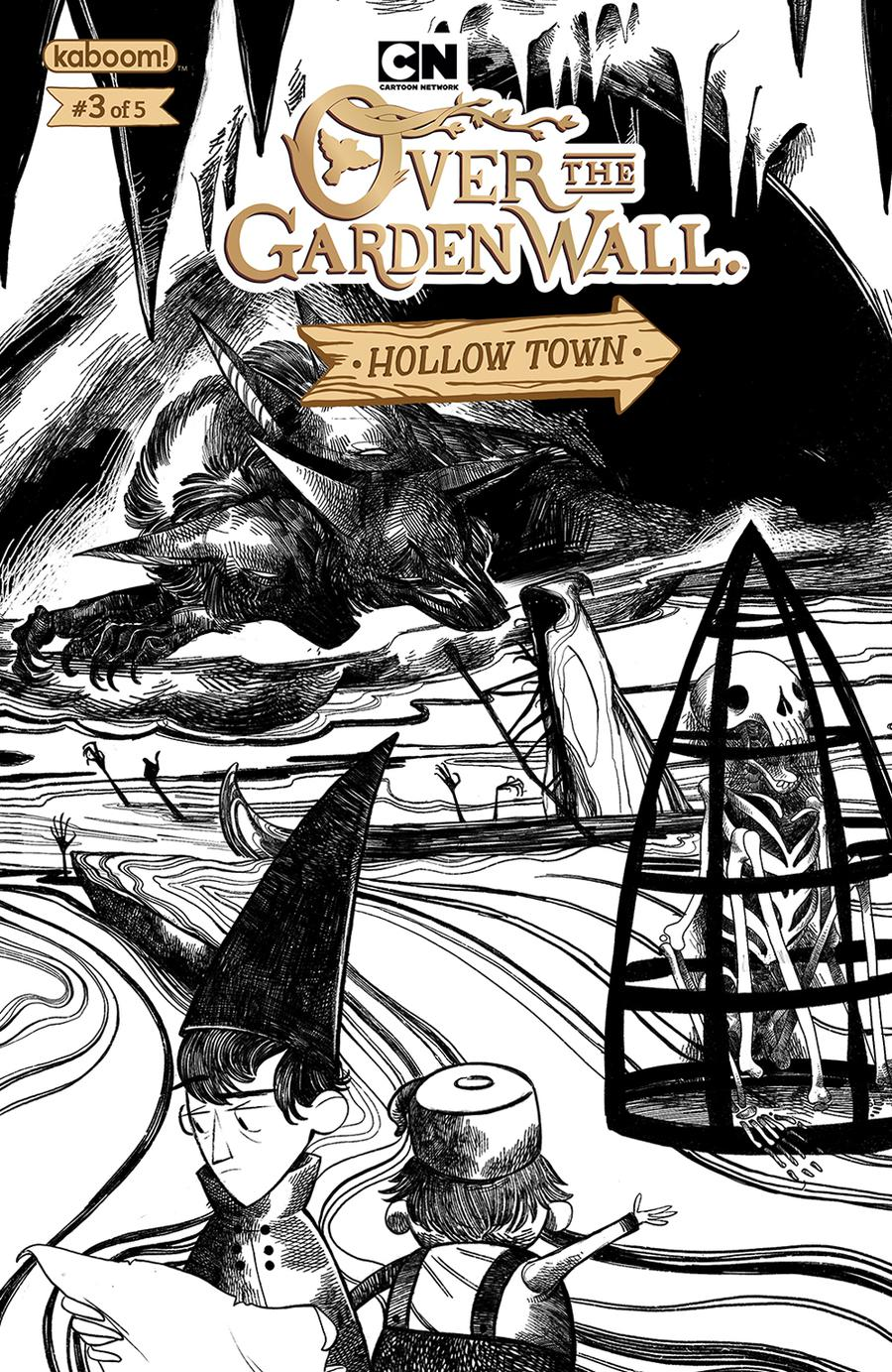 Over The Garden Wall Hollow Town #3 Cover B Variant Natalie Hall Preorder Cover