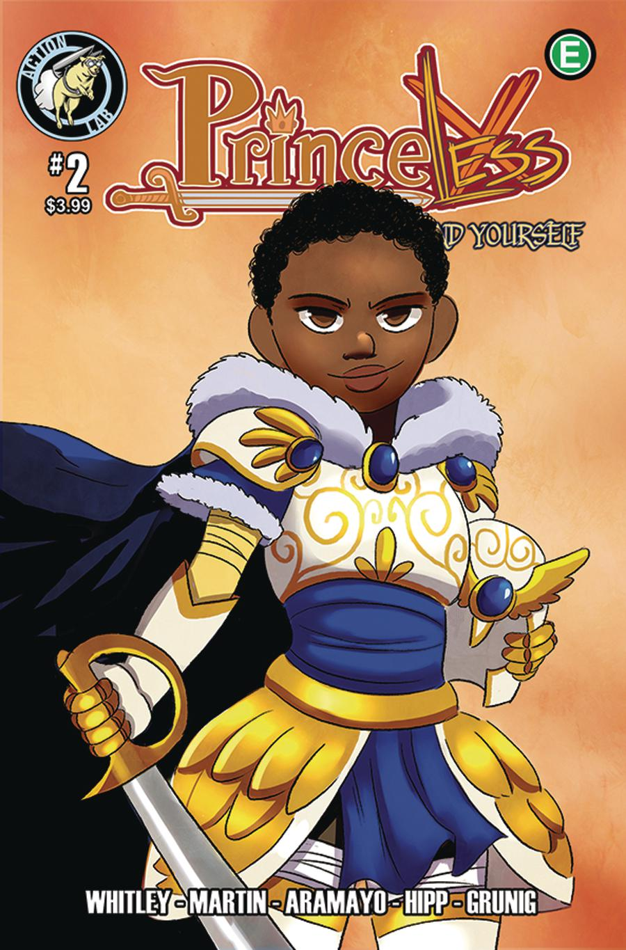 Princeless Find Yourself #2 Cover B Variant Cover