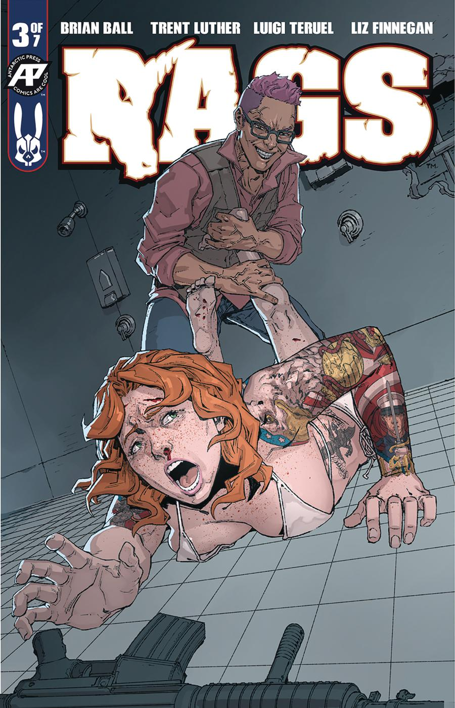 Rags #3 Cover A Regular Cover