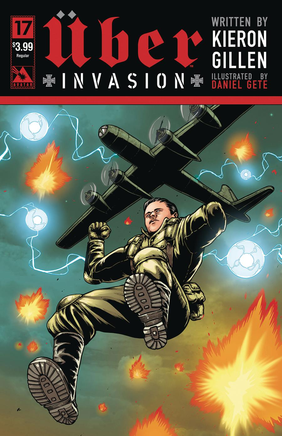 Uber Invasion #17 Cover A Regular Cover