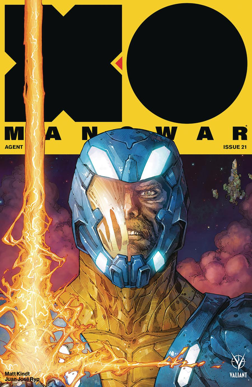 X-O Manowar Vol 4 #21 Cover A Regular Kenneth Rocafort Cover