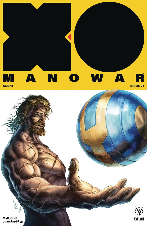 X-O Manowar Vol 4 #21 Cover B Variant Alan Quah Cover
