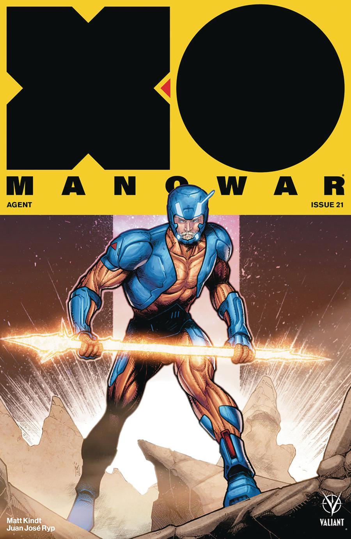 X-O Manowar Vol 4 #21 Cover C Variant Jim Towe Cover