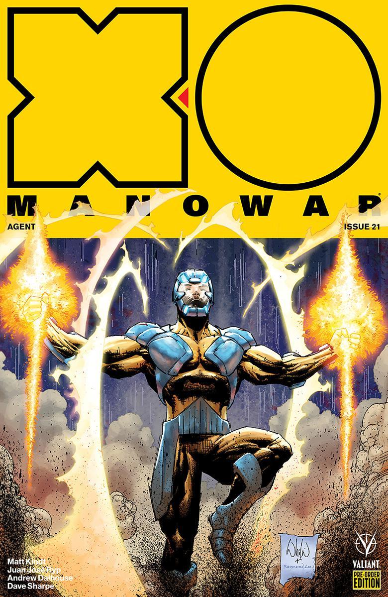 X-O Manowar Vol 4 #21 Cover D Variant Whilce Portacio Cover