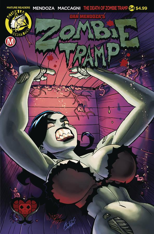 Zombie Tramp Vol 2 #54 Cover A Regular Winston Young Cover
