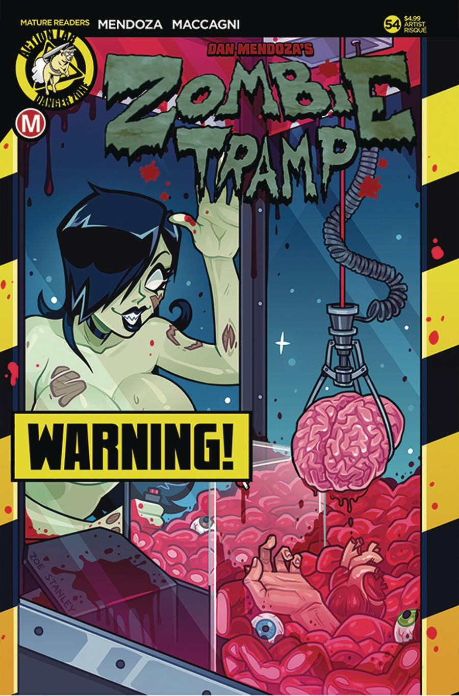 Zombie Tramp Vol 2 #54 Cover D Variant Zoe Stanley Risque Cover