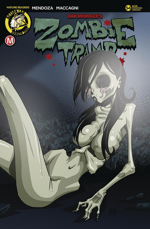 Zombie Tramp Vol 2 #54 Cover E Variant Dan Mendoza Risque A Cover