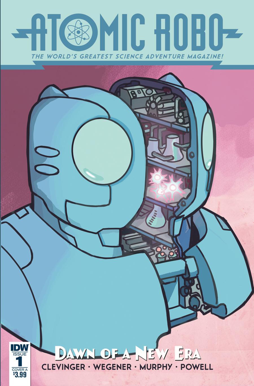 Atomic Robo And The Dawn Of A New Era #1 Cover A Regular Scott Wegener Cover