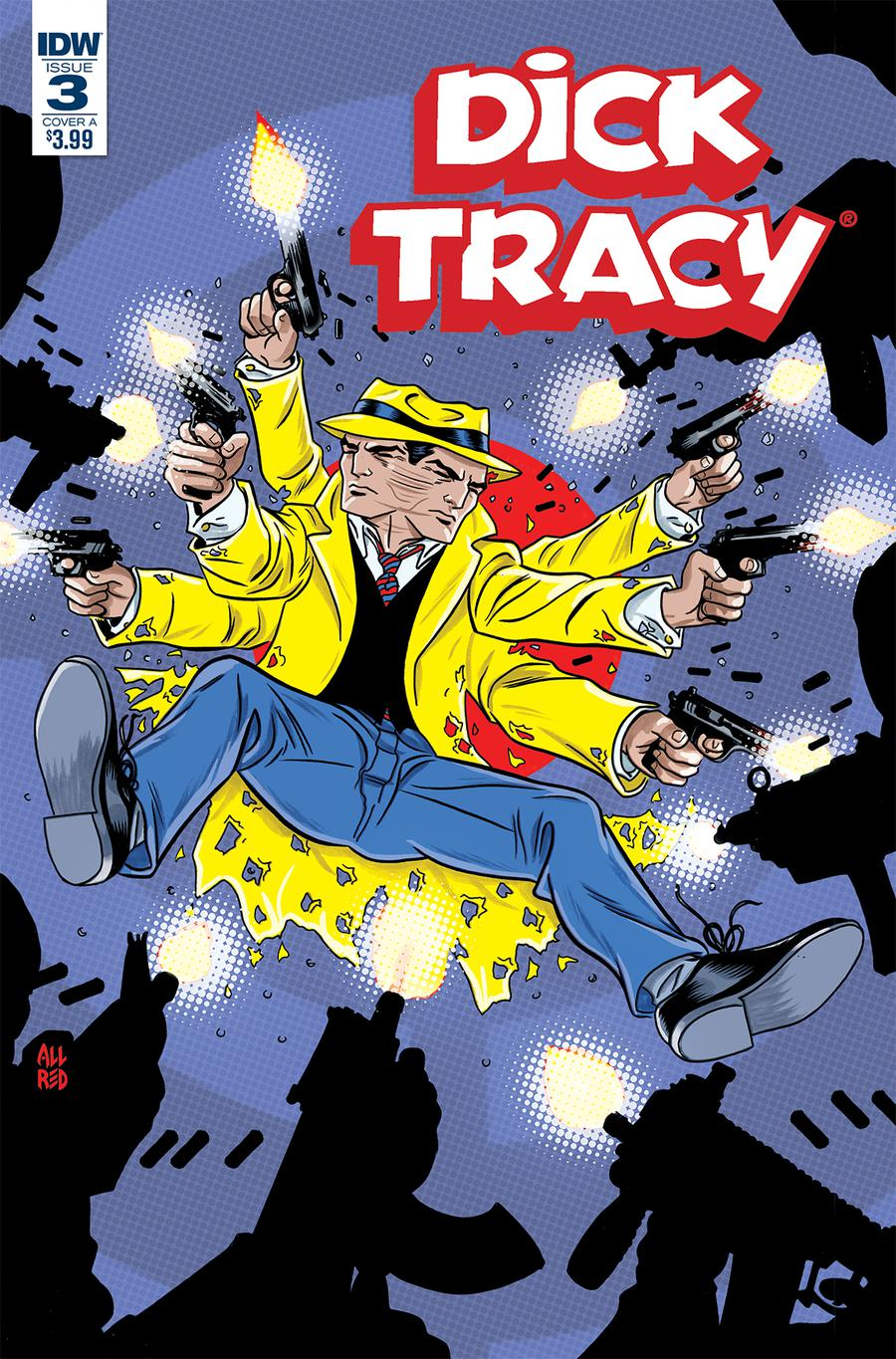Dick Tracy Dead Or Alive #3 Cover A Regular Michael Allred Cover