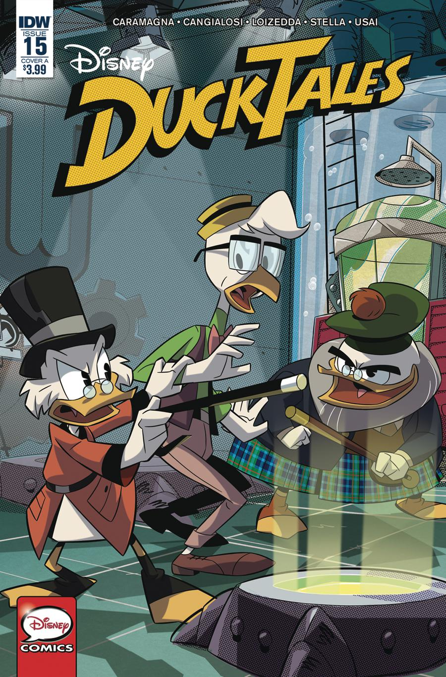 Ducktales Vol 4 #15 Cover A Regular Marco Ghiglione Cover