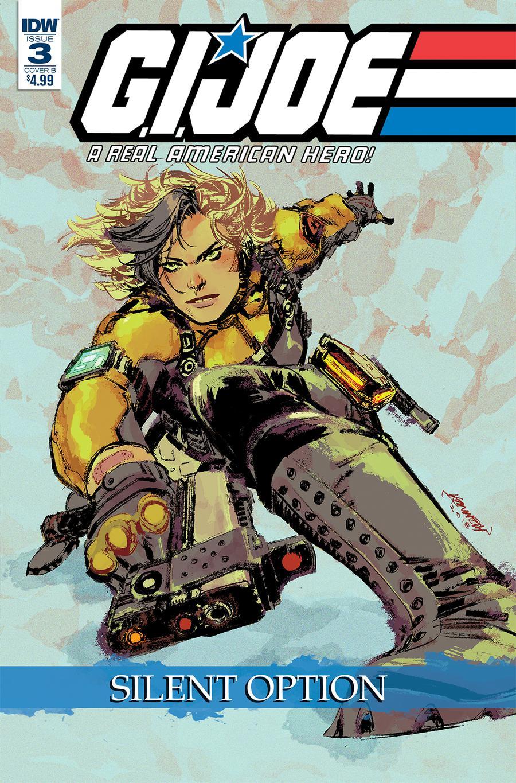 GI Joe A Real American Hero Silent Option #3 Cover B Variant Kenneth Loh Cover