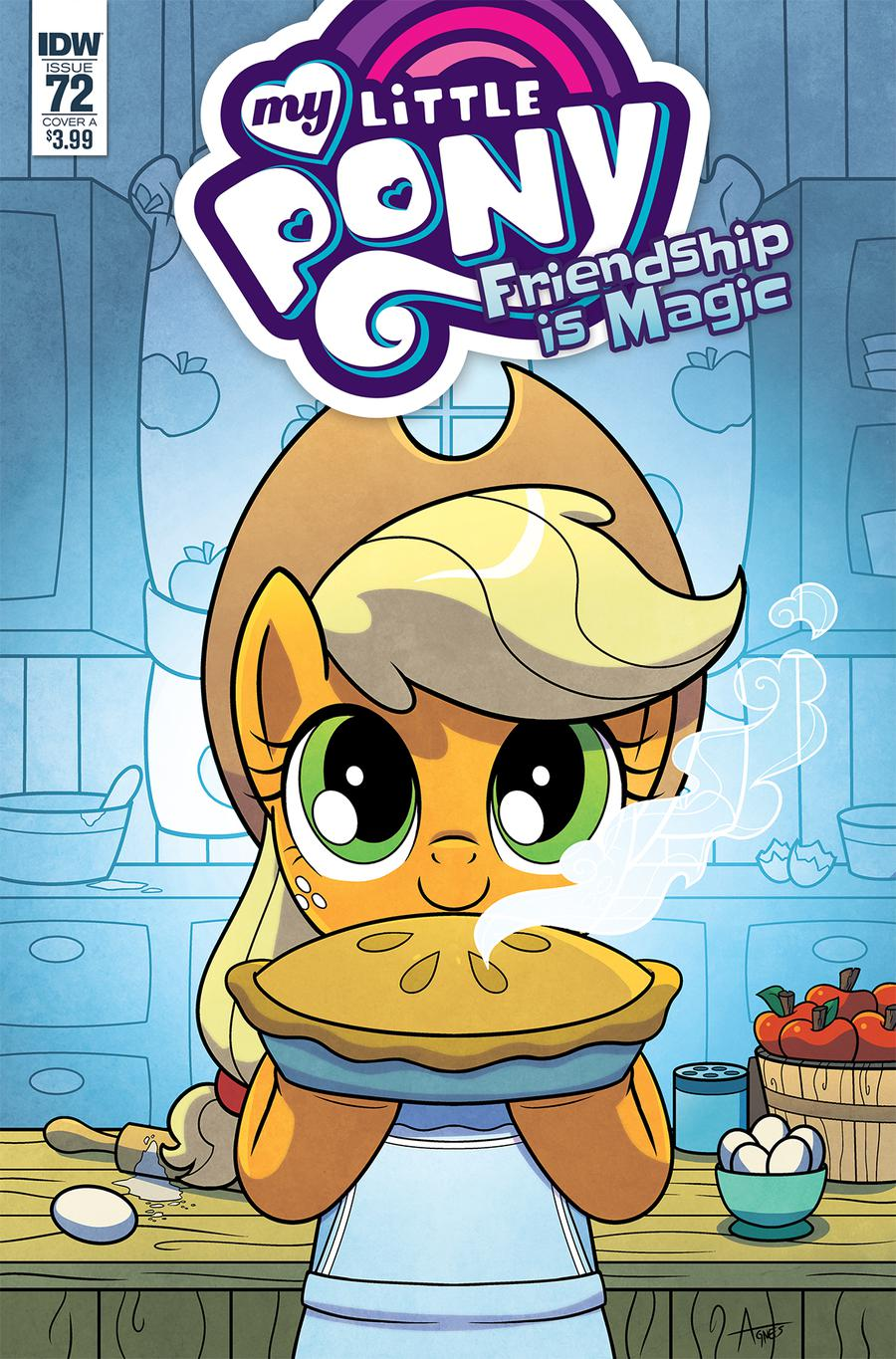 My Little Pony Friendship Is Magic #72 Cover A Regular Agnes Garbowska Cover