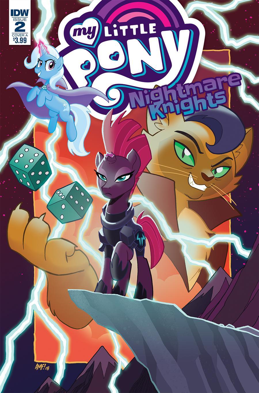 My Little Pony Nightmare Knights #2 Cover A Regular Tony Fleecs Cover