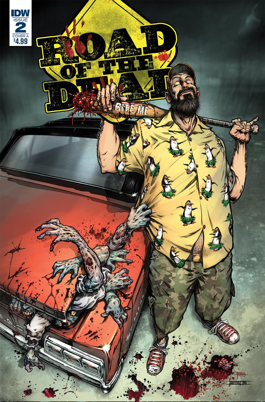 Road Of The Dead Highway To Hell #2 Cover A Regular Santiperez Cover