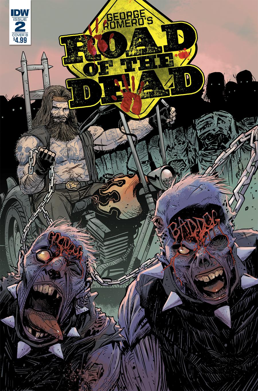 Road Of The Dead Highway To Hell #2 Cover B Variant Drew Moss Cover