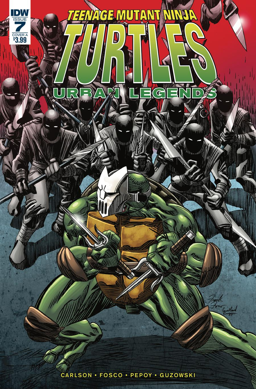 Teenage Mutant Ninja Turtles Urban Legends #7 Cover A Regular Frank Fosco Cover