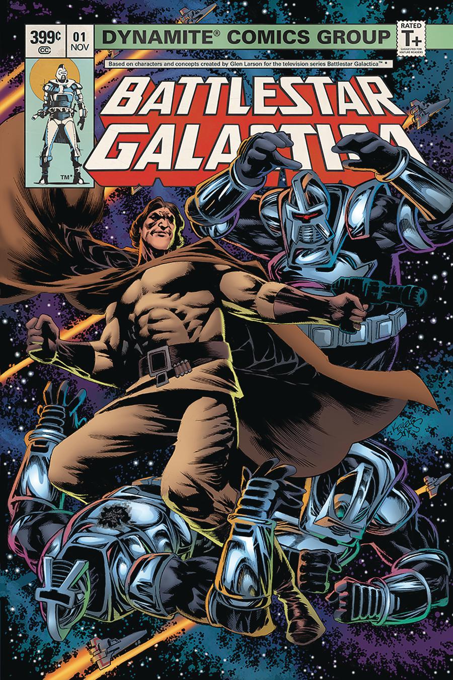 Battlestar Galactica Classic #1 Cover A Regular Kelley Jones Cover
