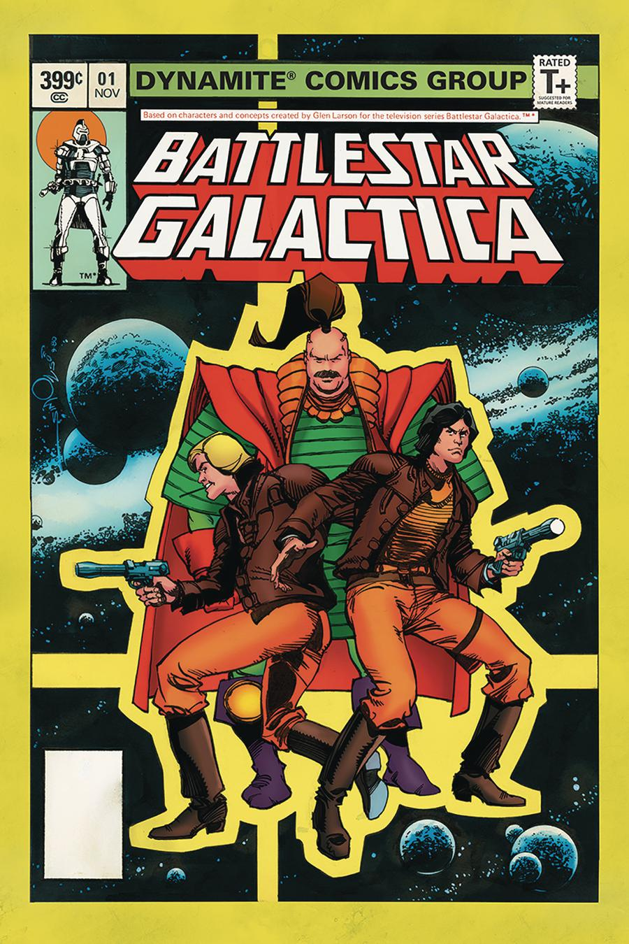 Battlestar Galactica Classic #1 Cover E Variant Walter Simonson Subscription Cover