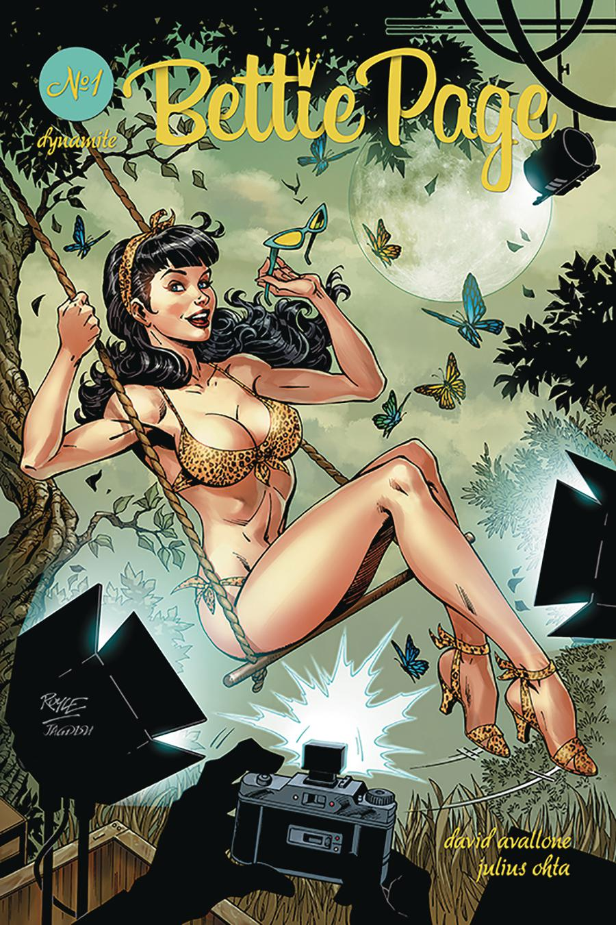Bettie Page Vol 2 #1 Cover A Regular John Royle Cover