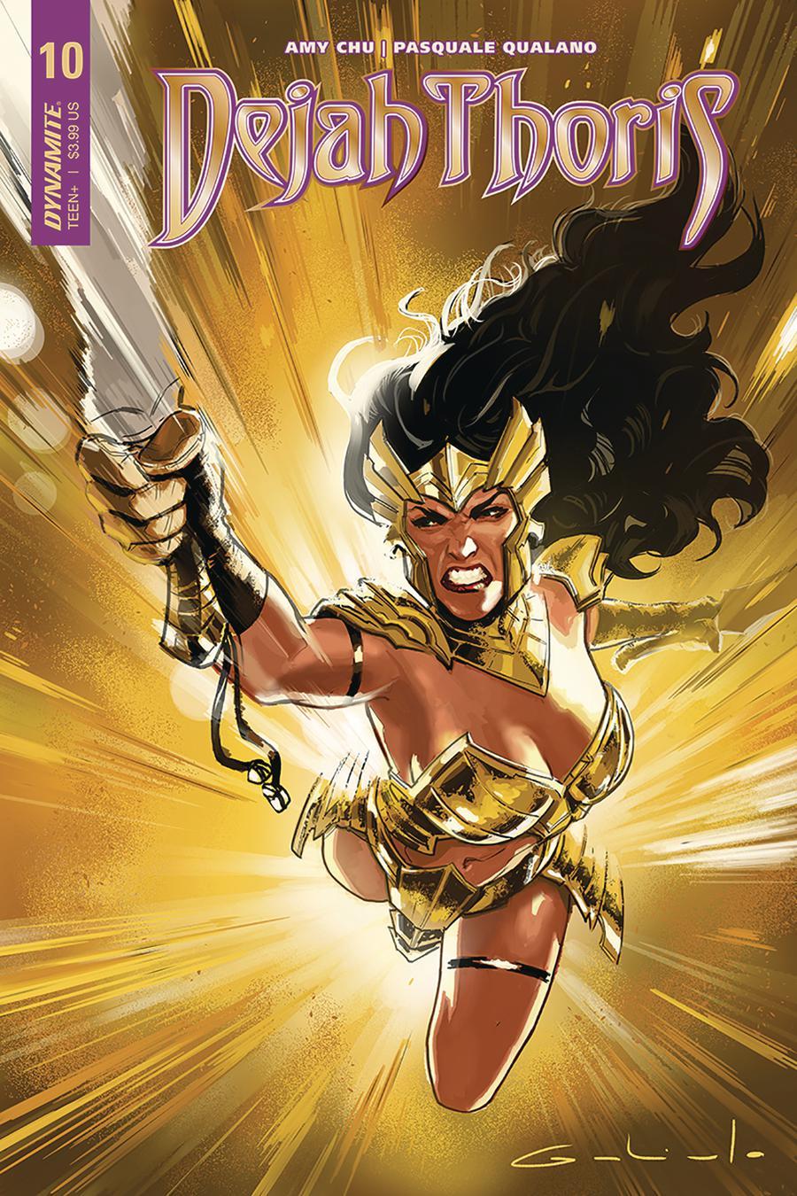 Dejah Thoris Vol 2 #10 Cover A Regular Diego Galindo Cover