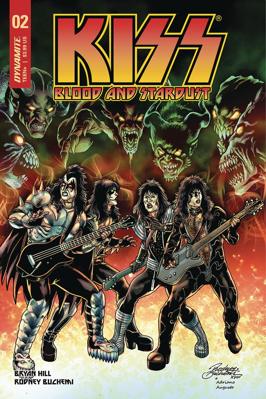 KISS Blood And Stardust #2 Cover B Variant Rodney Buchemi Cover