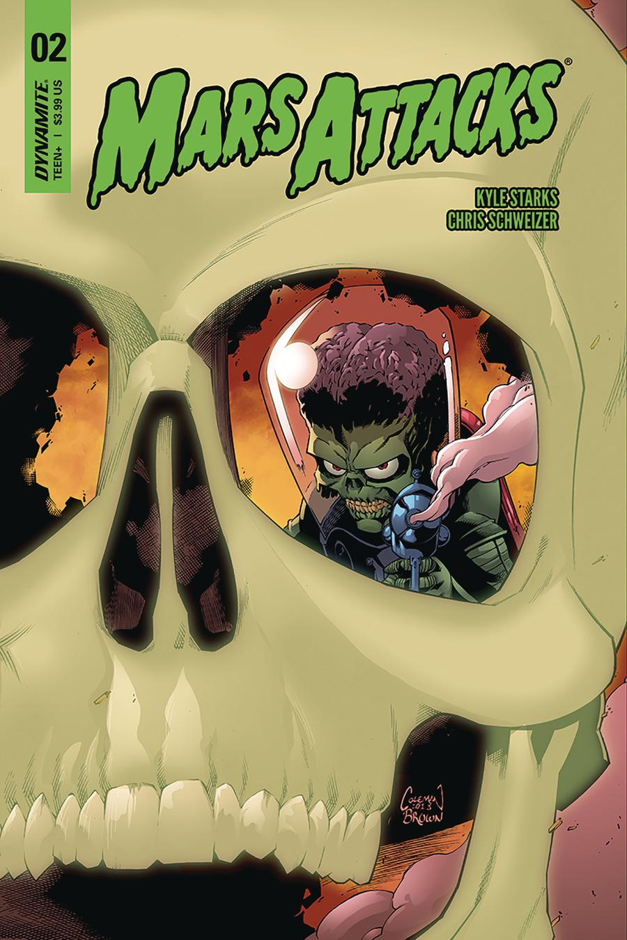 Mars Attacks Vol 4 #2 Cover B Variant Ruairi Coleman Cover