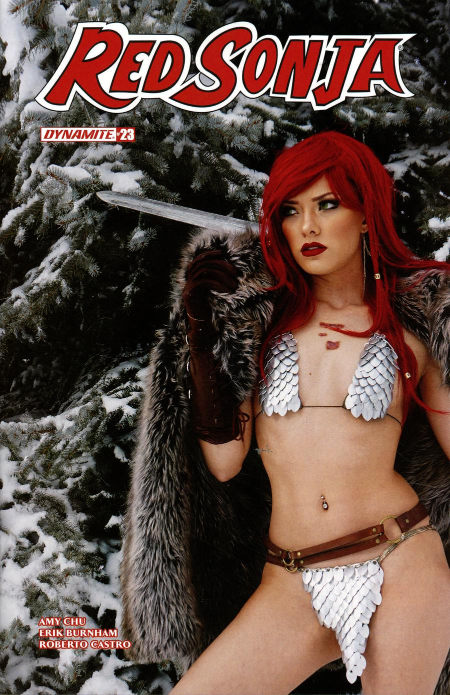 Red Sonja Vol 7 #23 Cover E Variant Cosplay Photo Subscription Cover