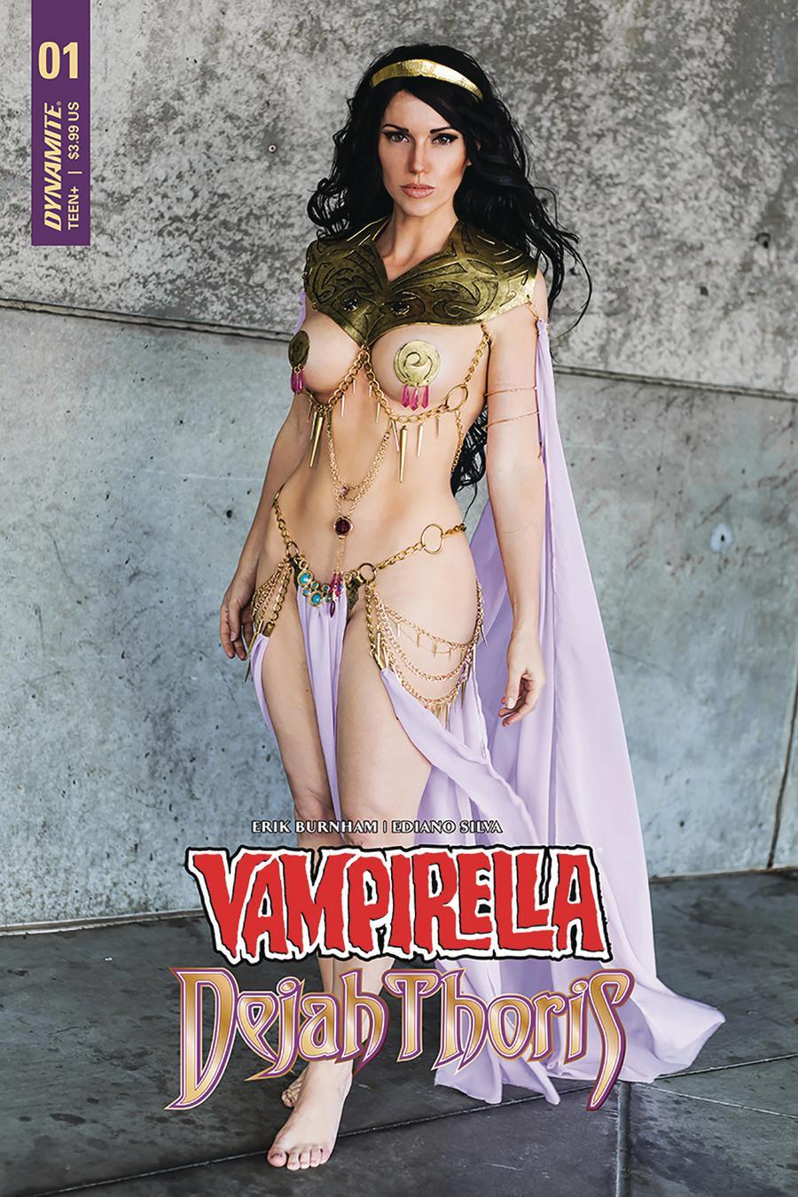 Vampirella Dejah Thoris #1 Cover P Dejah Thoris Cosplay Photo Cover Signed By Jacqueline Goehner