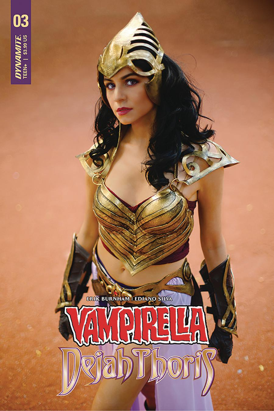 Vampirella Dejah Thoris #3 Cover F Variant Dejah Thoris Cosplay Photo Cover