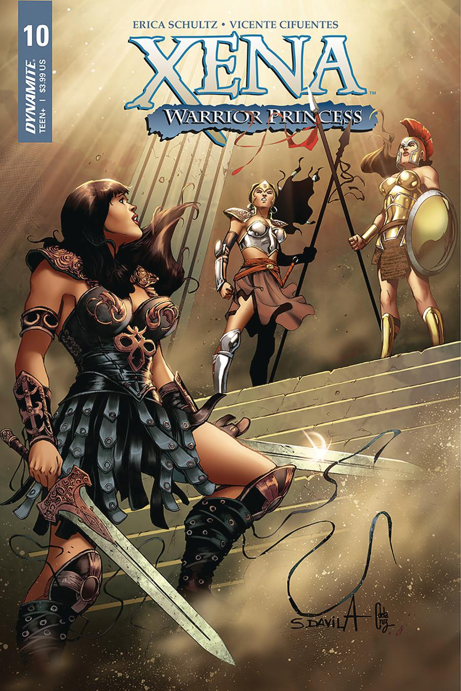 Xena Vol 2 #10 Cover A Regular Sergio Davila Cover