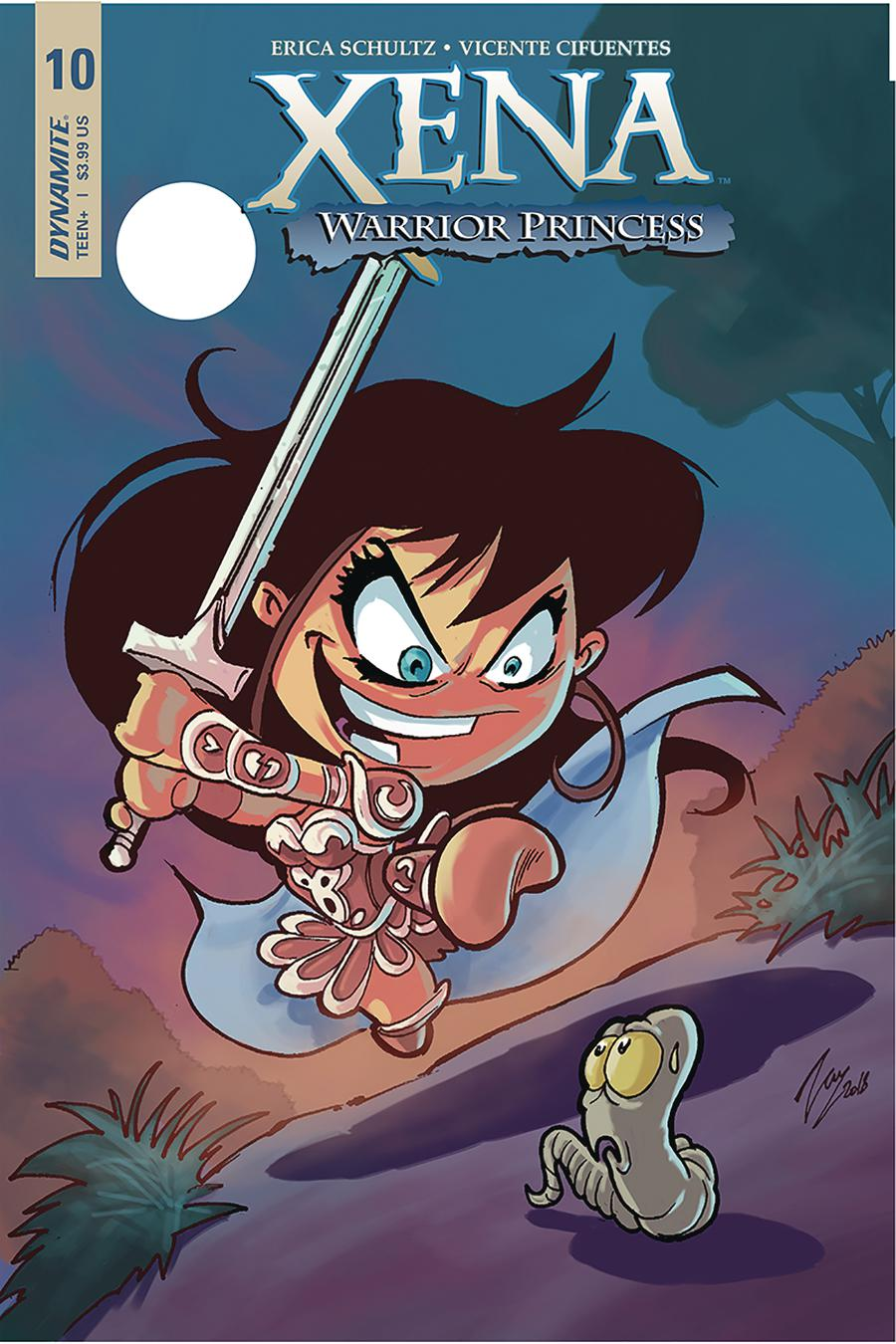 Xena Vol 2 #10 Cover B Variant Vicente Cifuentes Cover