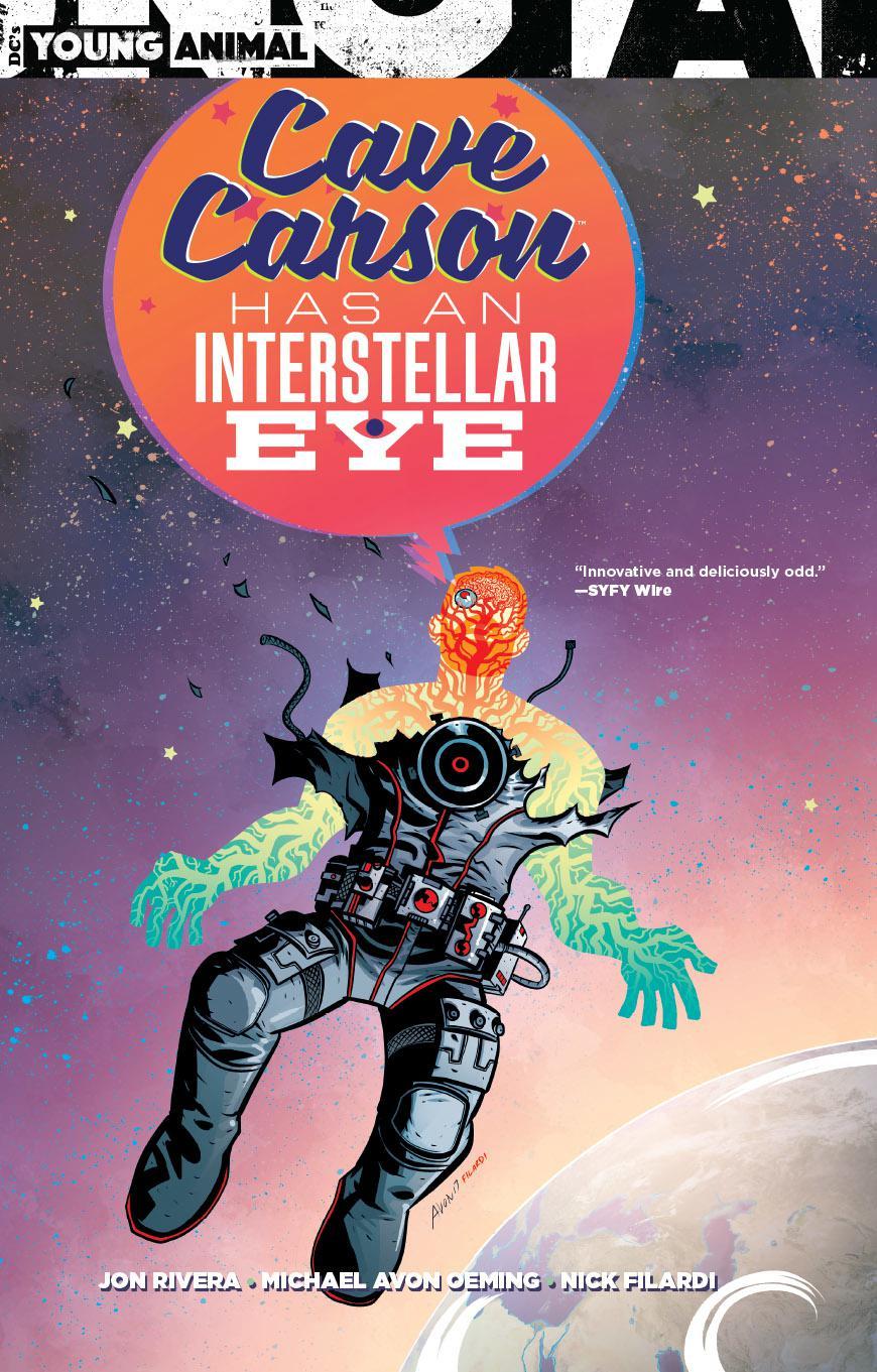 Cave Carson Has An Interstellar Eye TP