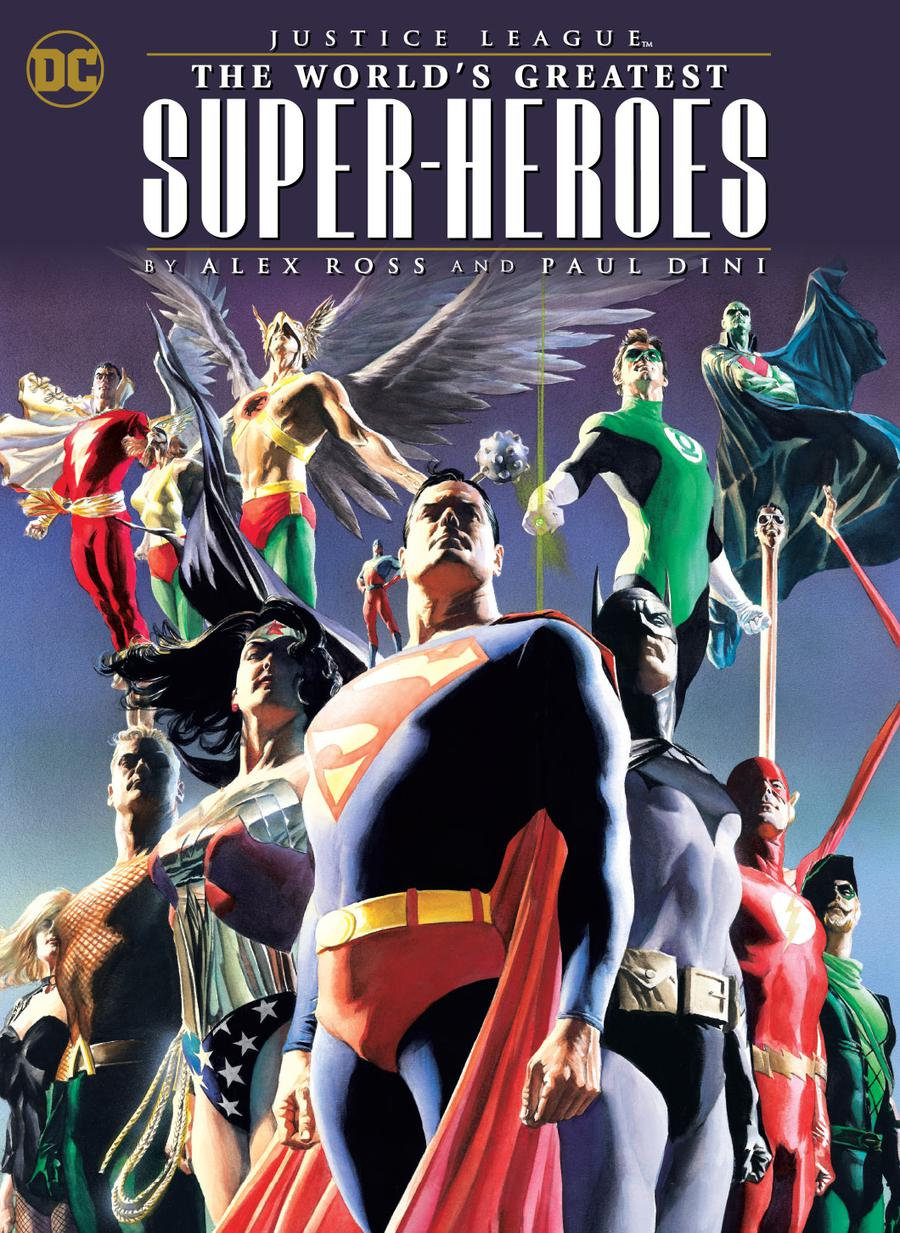 Justice League Worlds Greatest Super-Heroes By Alex Ross & Paul Dini TP