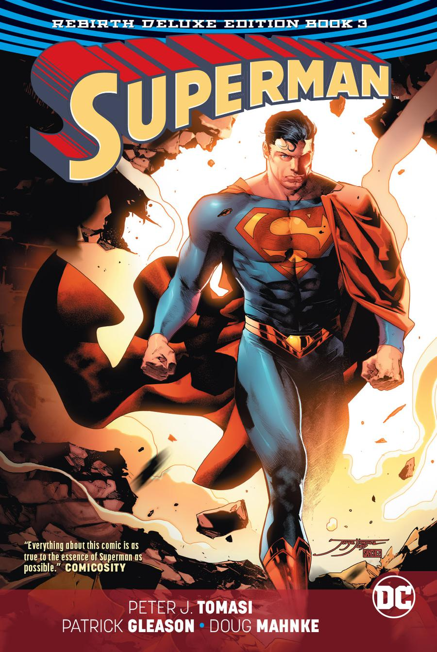 Superman Rebirth Deluxe Edition Book 3 HC