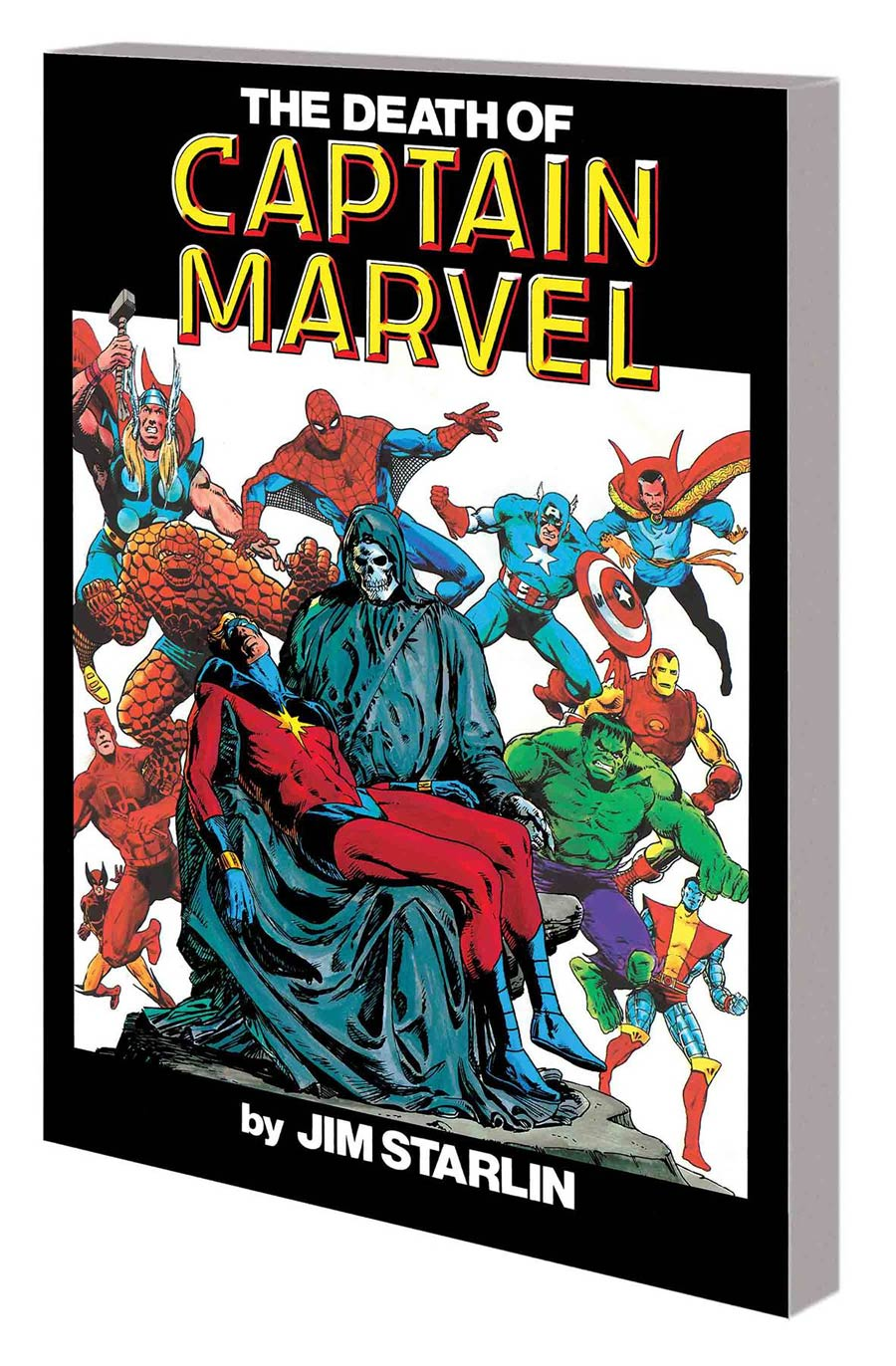 Death Of Captain Marvel TP New Printing
