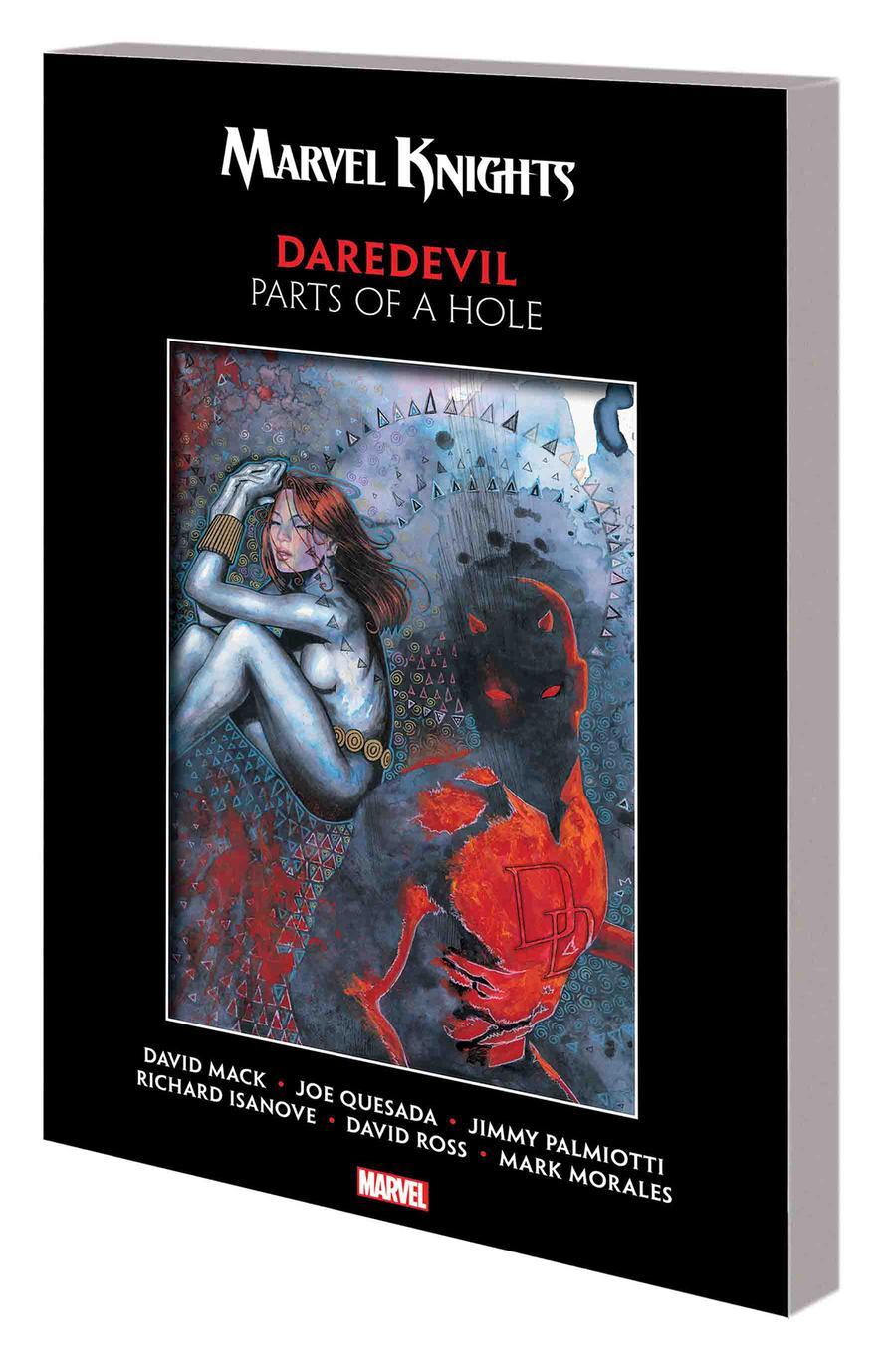 Marvel Knights Daredevil By David Mack & Joe Quesada Parts Of A Hole TP