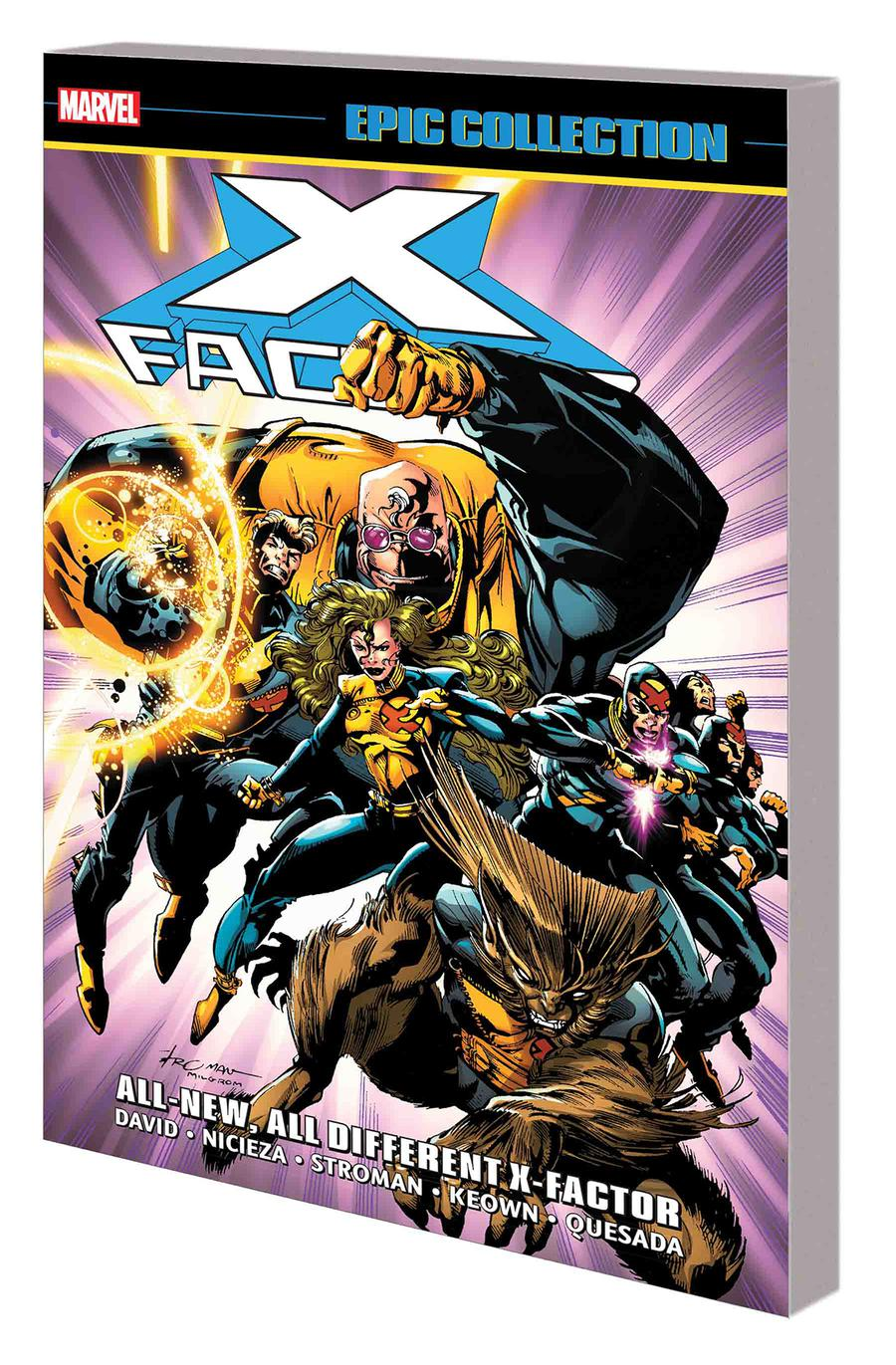 X-Factor Epic Collection Vol 7 All-New All-Different X-Factor TP