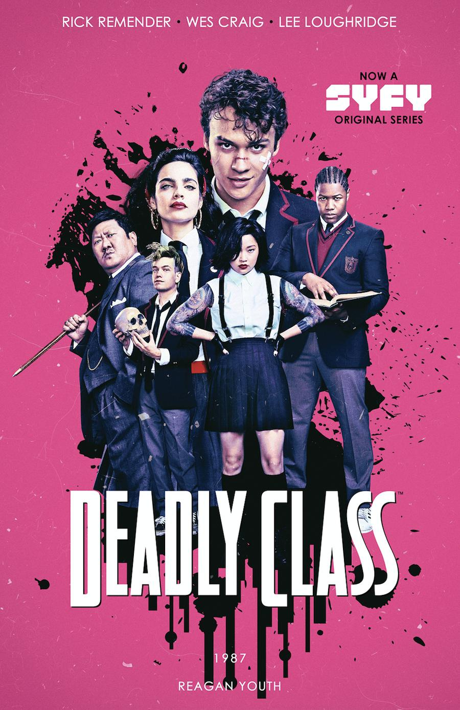 Deadly Class Vol 1 Reagan Youth TP Media Tie-In Edition