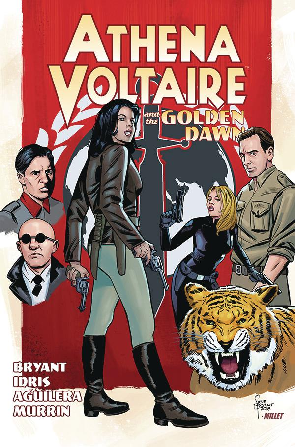 Athena Voltaire And The Golden Dawn TP