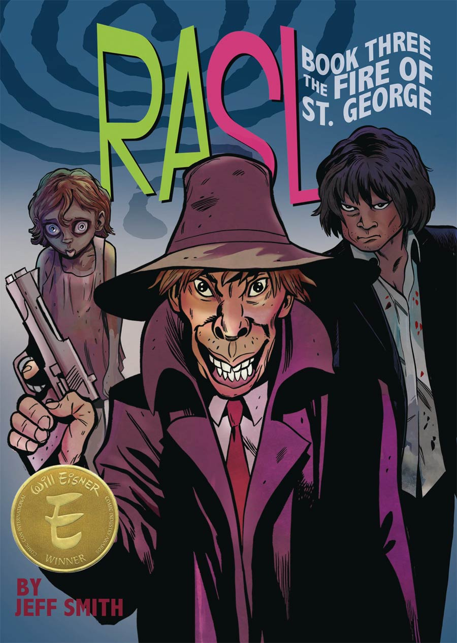 Rasl Color Edition Book 3 Fire Of St George TP