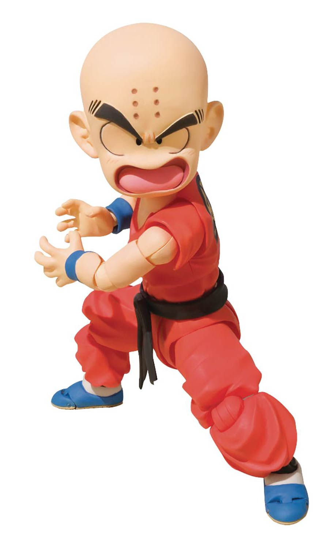 Dragon Ball S. H. Figuarts - Klilyn (Kid Krillin) Action Figure