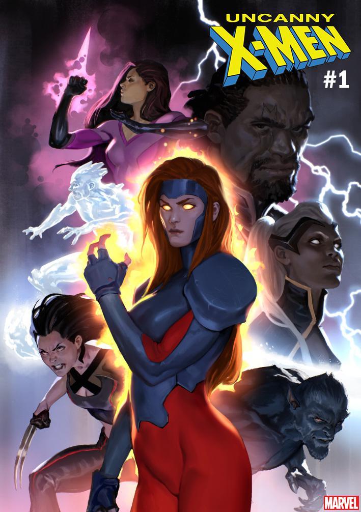 Uncanny X-Men Vol 5 #1 Cover D Variant Marko Djurdjevic Cover