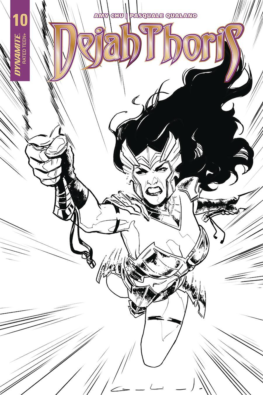 Dejah Thoris Vol 2 #10 Cover D Incentive Diego Galindo Black & White Cover